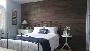 Beautiful Barnboard Wall
