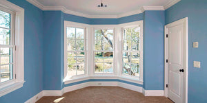 Room with beautiful Crown Moulding and Trimwork