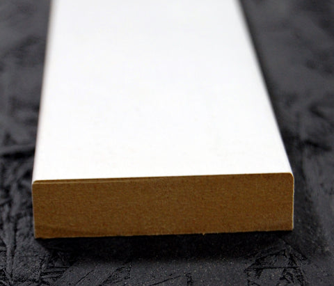 "2-3/4""x5/8"" MDF Primed 3 Sides Flat Stock"