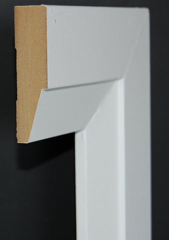 "2-3/4"" x 3/4"" MDF Contemporary Casing"