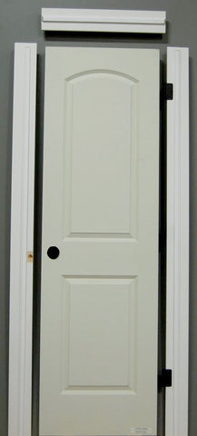 "1-3/8"" x 80"" - 2 Panel Roman Smooth Hollow Core, Pre- Machined w/ Primed  4-5/8"" FINGER JOINT Jamb Doors"