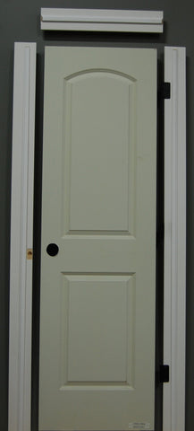 "1-3/8"" x 80"" - 2 Panel Roman Smooth Hollow Core, Pre- Machined w/ Primed  4-9/16"" MDF Jamb Doors"