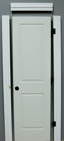 "1-3/8"" x 80"" - 2 Panel Smooth Hollow Core, Pre- Machined w/ Primed  4-9/16"" MDF Jamb Doors"
