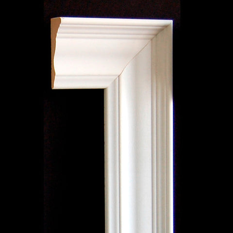 "3"" x 1"" MDF Colonial Casing Backband"
