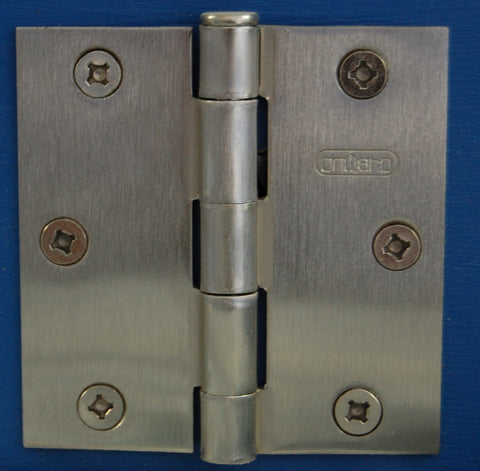 "3"" x 3"" Square Antique Nickel Hinge Door Hardware"