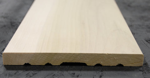 "6-9/16"" x 5/8"" x 84""  Raw Poplar Door Jambs"