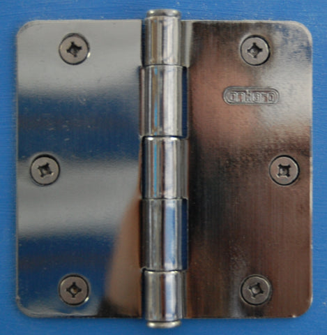 "3-1/2"" x 3-1/2"" -1/4"" Radius Anitque Nickel Hinges Door Hardware"