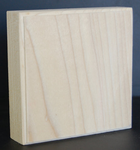 "1"" Thick Custom Poplar Corner Block"
