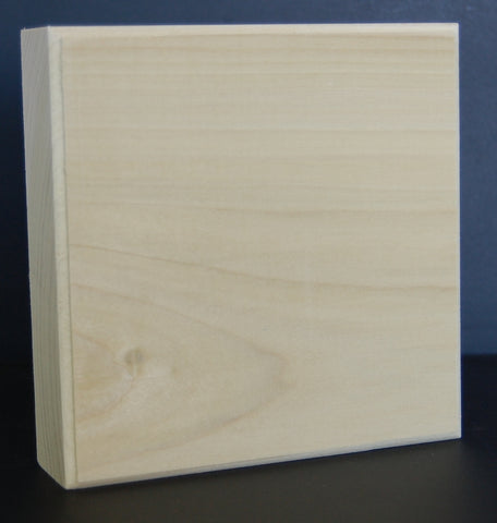 "1-1/4"" Thick Custom Poplar Corner Block"