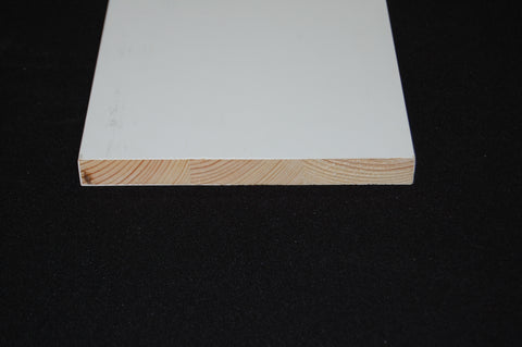 "7-1/4"" x 3/4"" FINGER JOINT PRIMED FLAT STOCK"