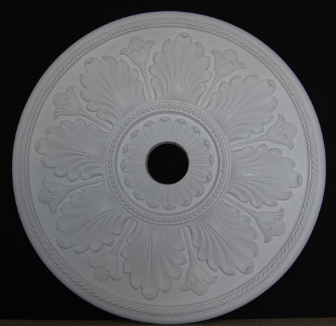 "31.5"" Floral Poly Ceiling Center Medallions"