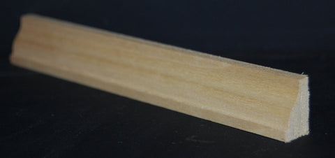 "1/2"" x 3/4"" Poplar Inset Panel Mould Trim"