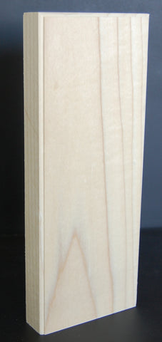 "1"" Thick Custom Poplar Pinth Blocks/Corner block"