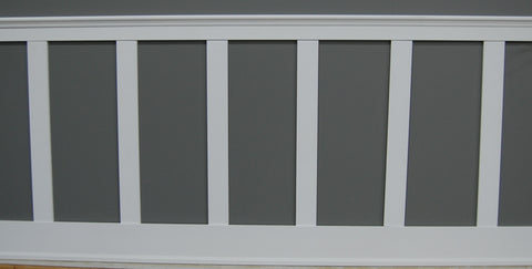 "8 Feet ""Shaker"" Style Wainscoting Kit"