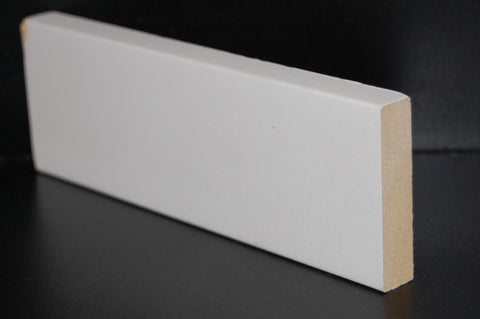 "2"" x 1/2"" x 8FT 5"" MDF Primed Flat Stock For Accent Walls"