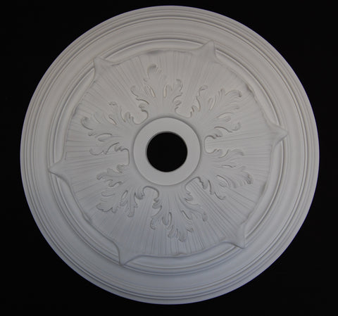 "28"" Acanthus Leaf Poly Ceiling Center Medallions"