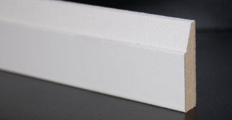 "1-1/2"" x 3/8"" MDF Contemporary Shoe/ Doorstop Trim"