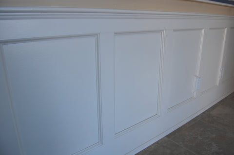 8 FEET PANEL WAINSCOTING KIT
