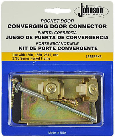 Pocket Door Kit Converging Connector Door Hardware