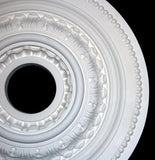 "18"" Pearl Leaf Poly Ceiling Center Medallions"