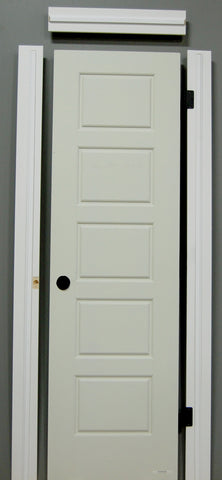 "1-3/8"" x 80"" - Riverside Hollow Core, Pre- Machined w/ Primed  4-9/16"" MDF Jamb Doors"