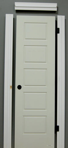 "1-3/8"" x 80"" - Riverside Hollow Core, Pre- Machined w/ Primed  4-5/8"" FINGER JOINT Jamb Doors"