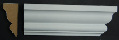 "2-3/4"" x 1- 1/4"" MDF Primed Top Rail"