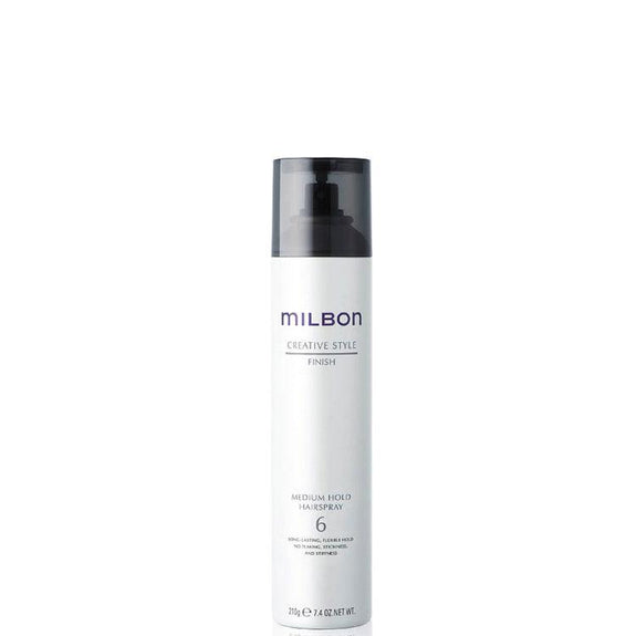 Global Milbon Finish Hair Spray Medium Hold Hair Spray 6