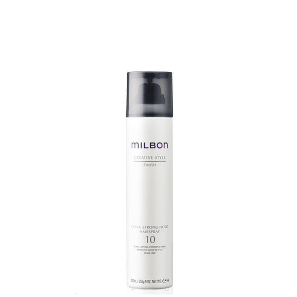 Global Milbon Finish Hair Spray Extra Strong Hold 10