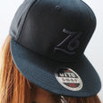 Number76 Original Cap - Black/Grey
