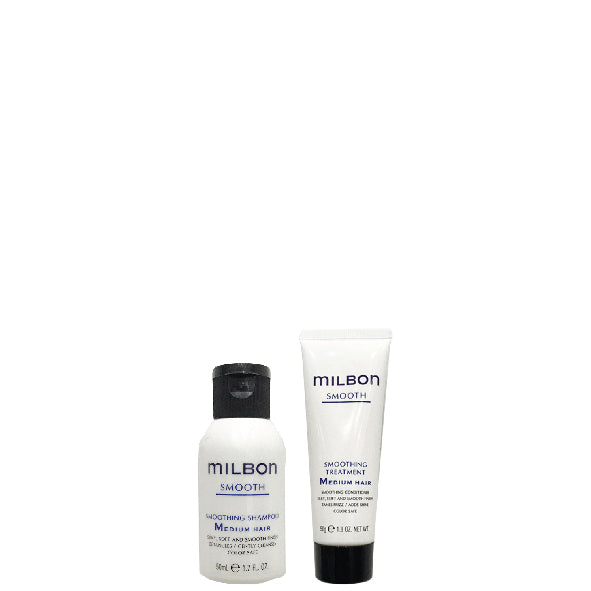 Global Milbon Smooth Travel Set 50ML - Medium Hair