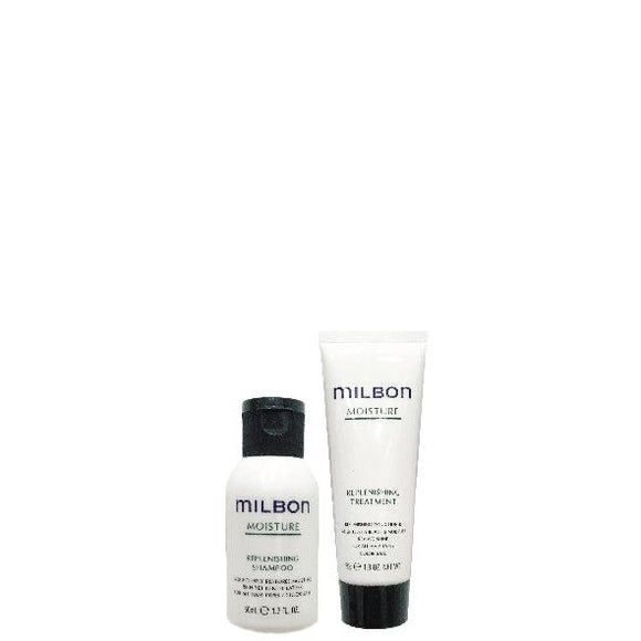 Global Milbon Moisture Replenishing Travel Set 50ml