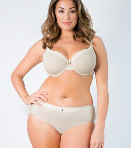 Curvy Couture Luxury Cotton Hipster Panty 1011