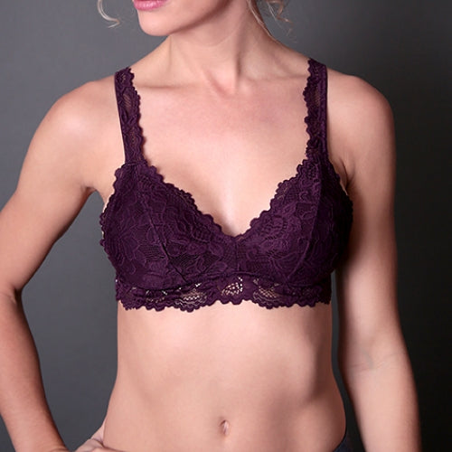 Undie Couture Classic Lace Bralette 1251