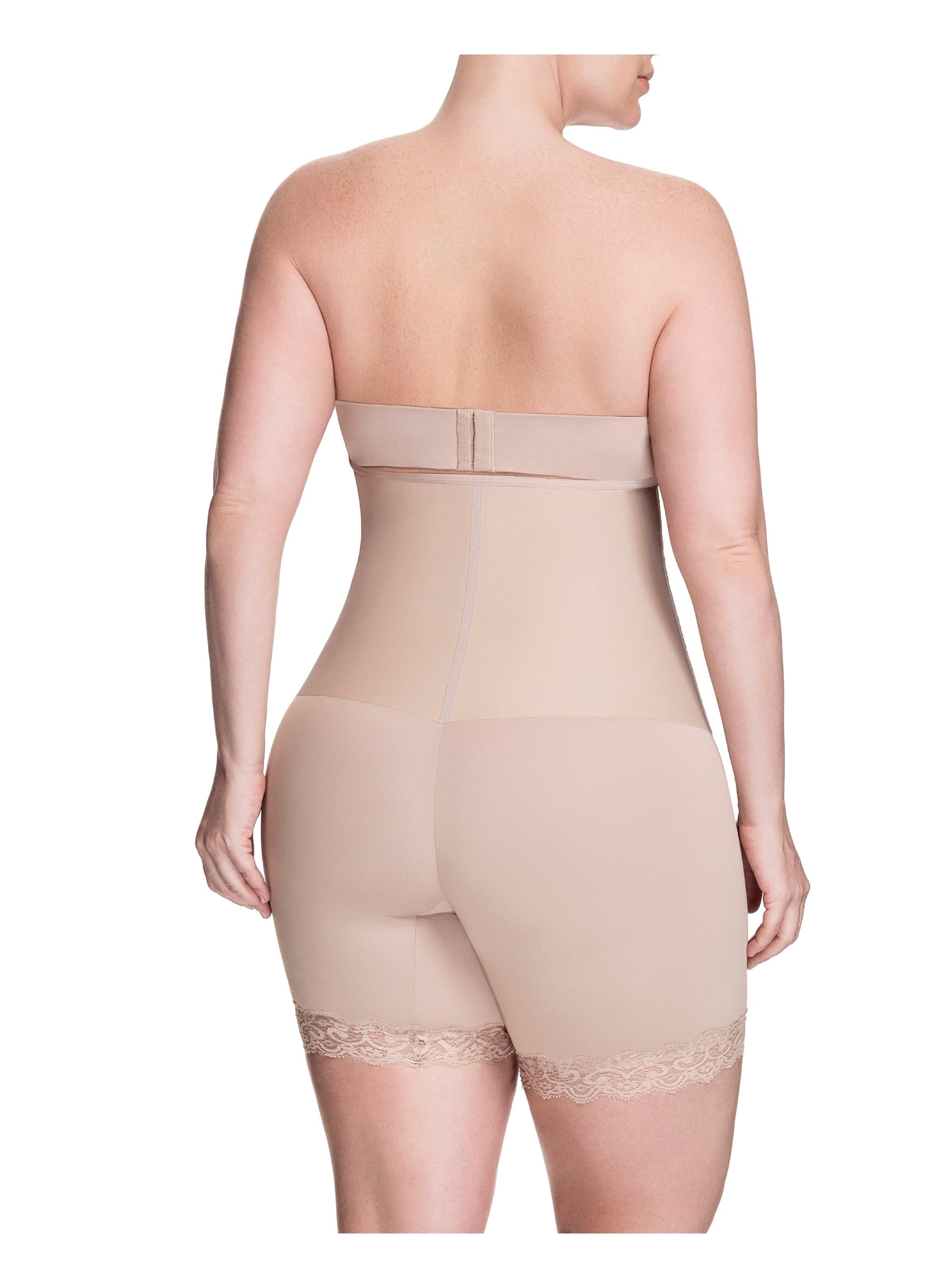 Squeem Sensual Secret High Waist Mid Thigh Short 26AB