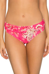 Sunsets Rhapsody Pink Unforgettable Bikini Bottom 27B