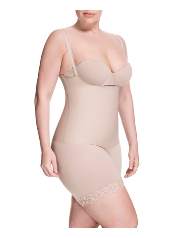 Squeem Sensual Secret Open Bust Mid Thigh Short 26AA