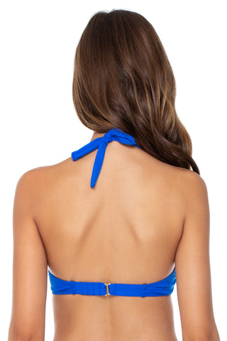 Sunsets Imperial Blue Muse Bikini Top 51 (EFGH CUP)