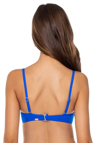 Sunsets Imperial Blue Iconic Twist Bandeau 55EFGH