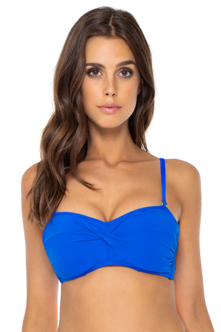 Sunsets Imperial Blue Iconic Twist Bandeau (EFGH CUP)