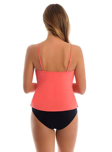 MagicSuit Rita Soft Cup Tankini Top DD-Cup Samba Orange 6003044DD
