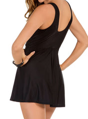 Miraclesuit DD-Cup Solid Marais Soft Cup Swimdress 6518635DD