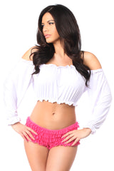 Daisy Corsets Long Sleeve Peasant Top ACC