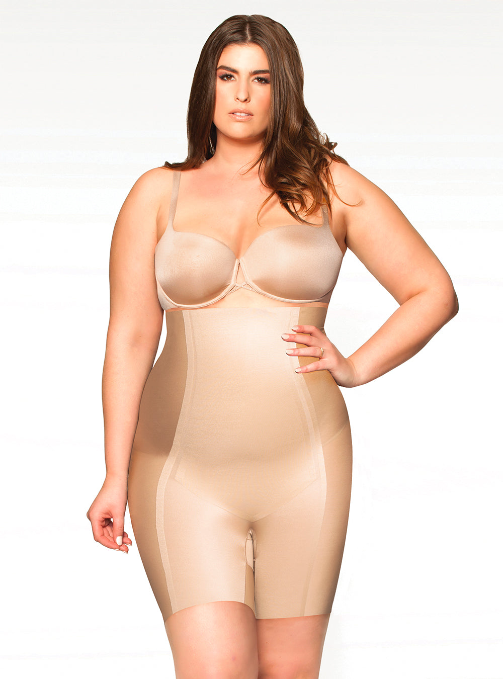 Bobyhush The Most Wanted Thigh Control BH1507 - Nude