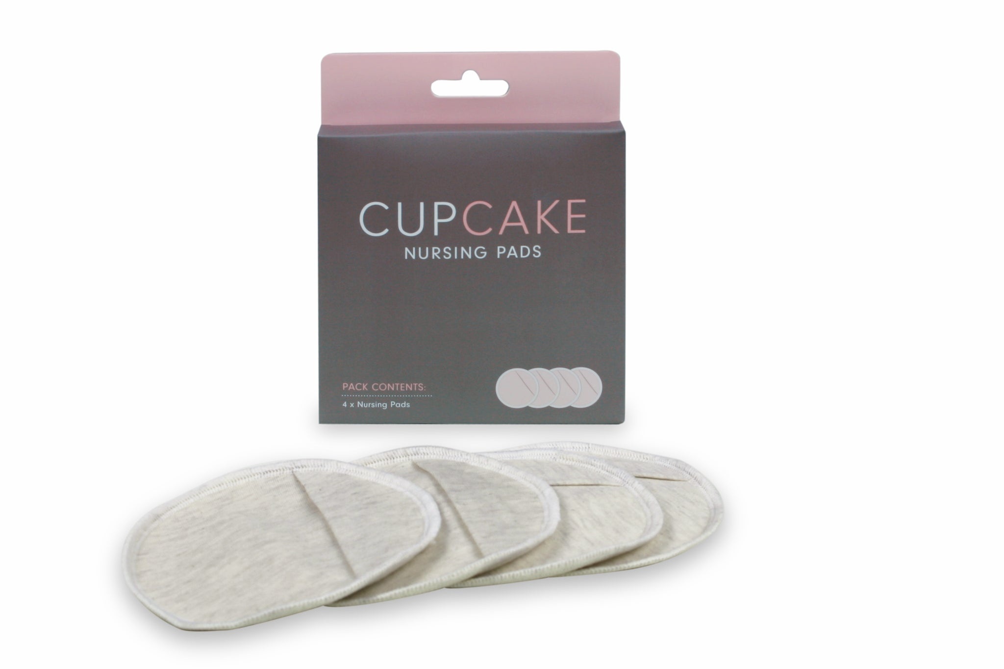 CupCake Nursing Pads All-in-One - Washable - Organic