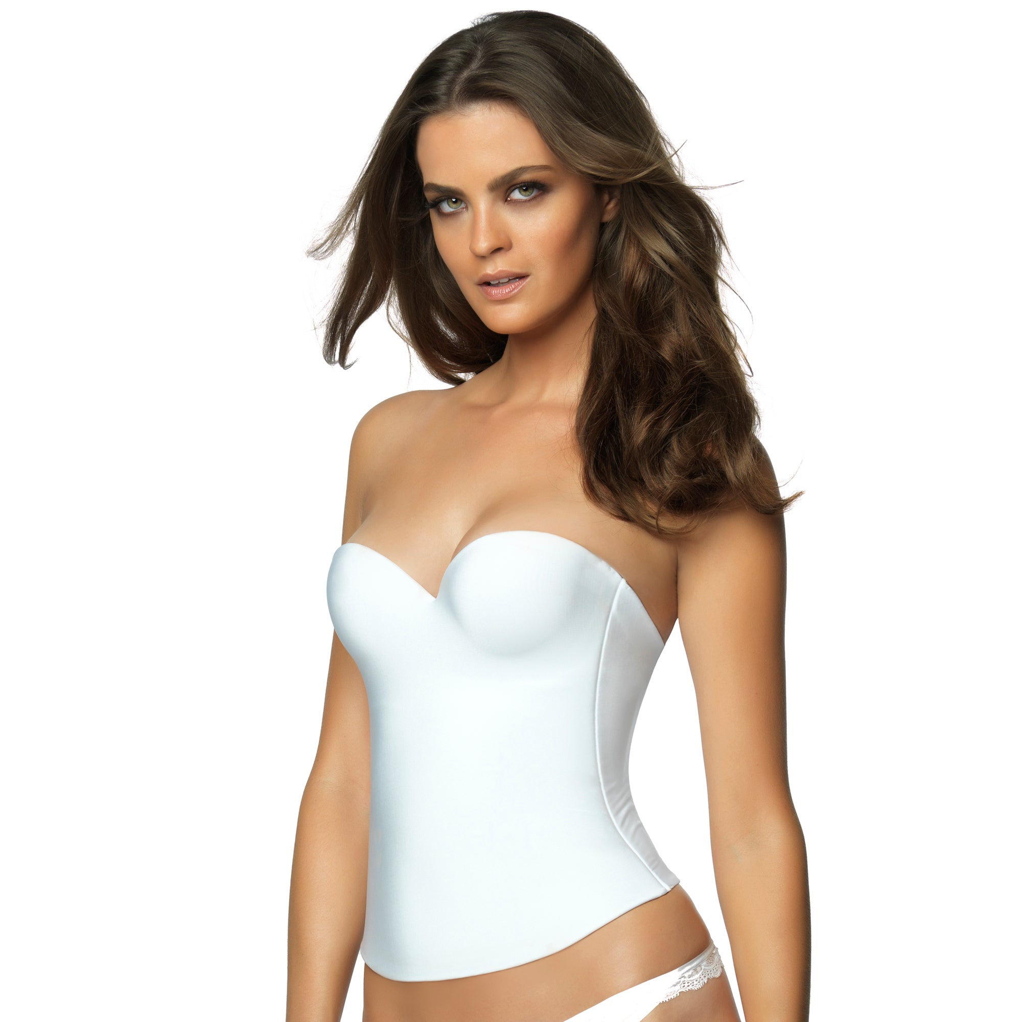 Felina Essentials Seamless Pad Hidden Wire Bustier 7643