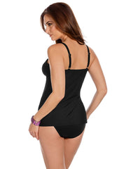 Miraclesuit Solid Love Knot Tankini Top 6513047