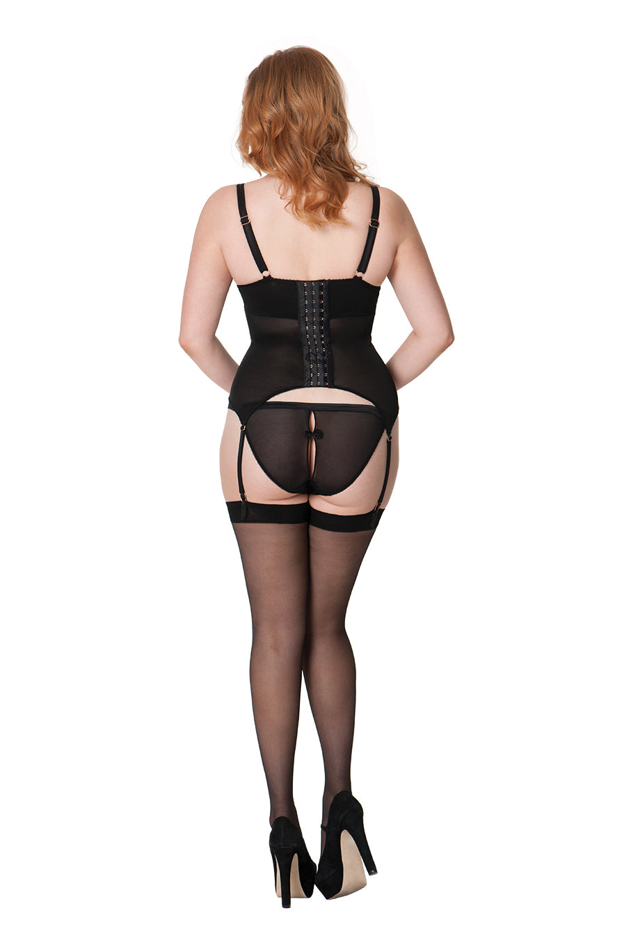 Scantilly by Curvy Kate Surrender Peep Hole Brief ST2405