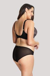 Sculptresse by Panache Katya Brief 9942 Black/Pink
