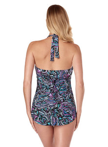 MagicSuit by MiracleSuit Trish Underwire Tankini Top 6007203